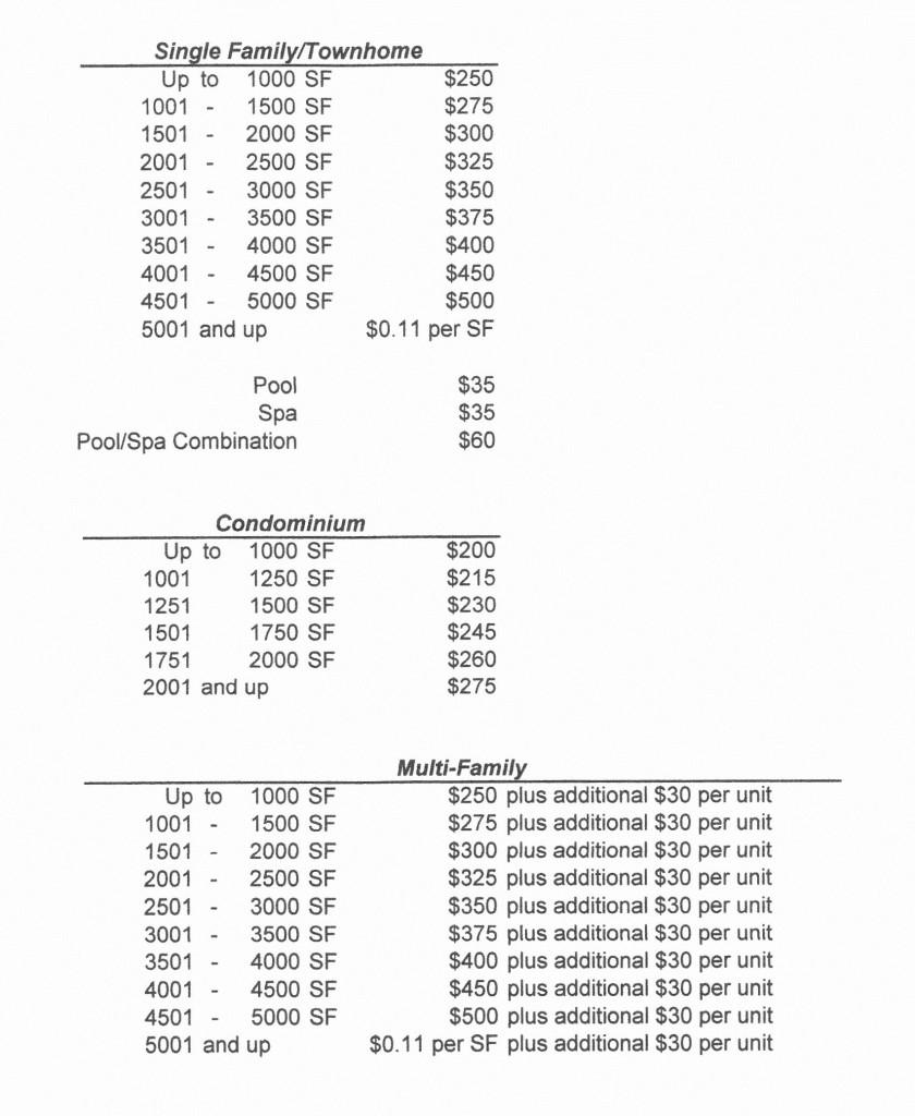 WEB Price List